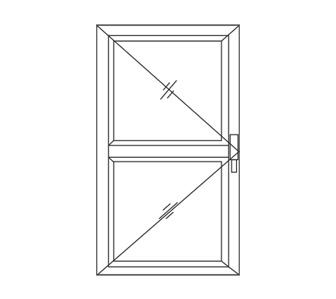Aluminium Casement Door Line
