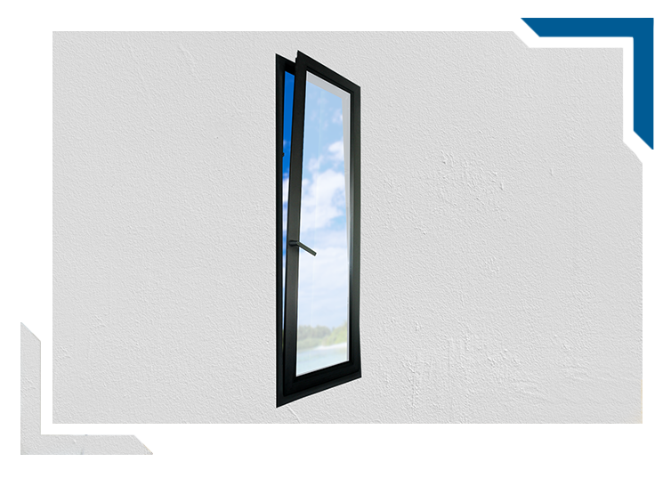 aluminium tilt turn windows