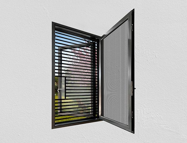 Aluminium Villa Window