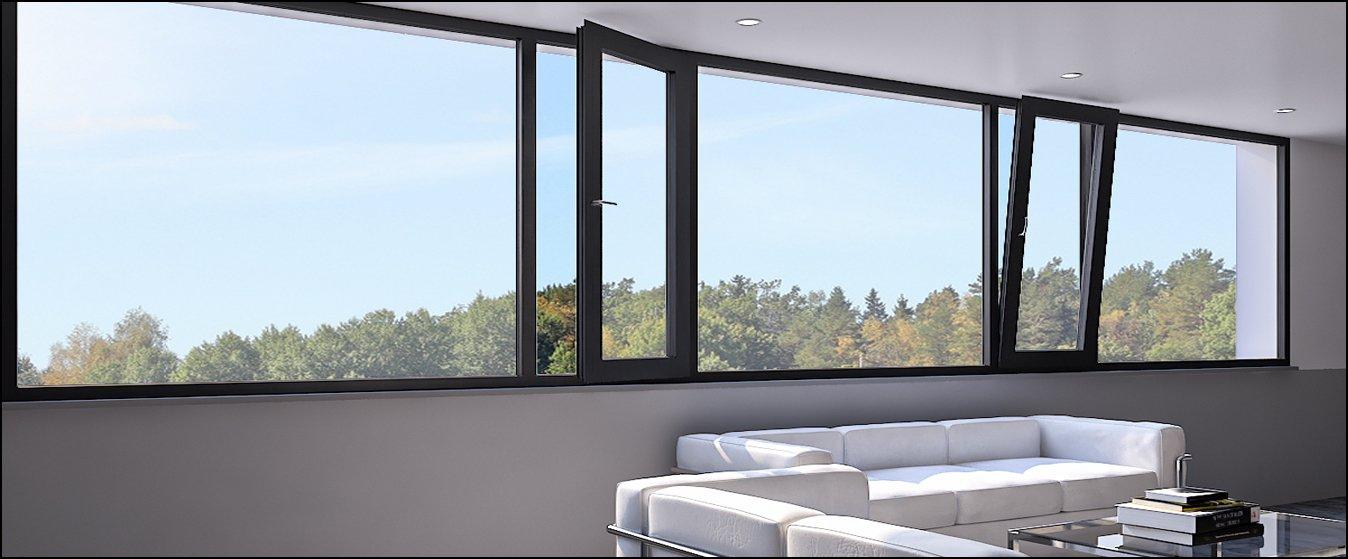 advantages of aluminium windows and doors
